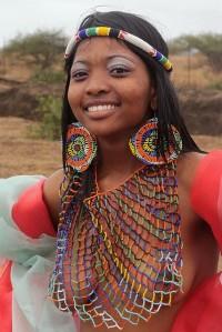 Zulu woman, Swaziland
